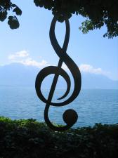 Montreux sedia o famoso festival de jazz, em julho