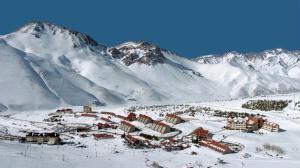 Las Le�as � o maior complexo de esqui da Argentina.