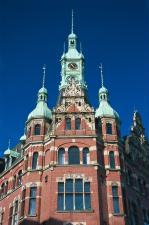 Antiga Prefeitura de Hamburgo, localizada no distrito de armaz�ns.