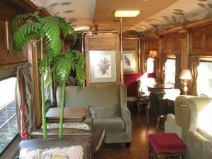 A parte ferrovi�ria do pacote que oferece passeios no trem de luxo come�a em Curitiba.