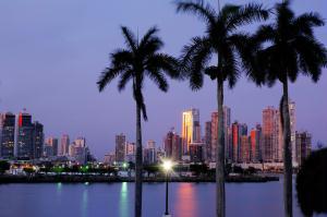Centro financeiro da Cidade do Panam�.