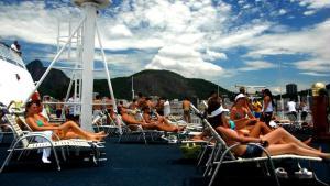 O MOB Festival tem 60 horas de m�sica eletr�nica e gente bonita dentro de um navio.