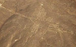 nazca art essay A tractor-trailer is seen parked on the site of peru's famous nazca lines on   though the ancient artwork is estimated to be thousands of years.