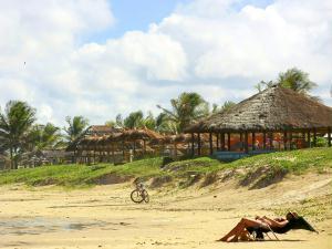 Descanso na Praia do Ref�gio.