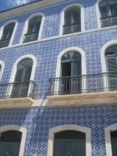 Os azulejos embelezam ainda mais os pr�dios do centro hist�rico de S�o Lu�s.