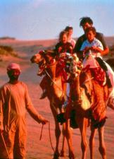Turistas podem passear sobre camelos, mas o que n�o falta em Dubai � luxo.