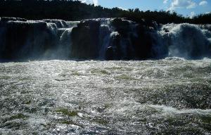 Melhor vista para o Salto do Yucum� fica no Parque Estadual do Turvo.